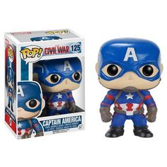 Captain America Collectible Vinyl Figure - Original Funko Pop Marvel C – One Geek  DETAILS & DIMENSIONS Product: Captain America Figures Product Size: 10 cm Material: PVC Age: Over 6 years old Type: Collectible Vinyl Doll Theme: Movie & TV Manufacturer: Funko