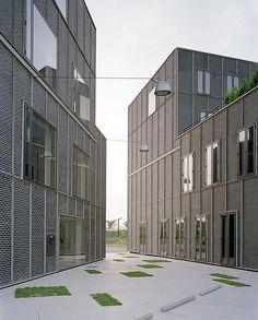Florian Beigel & ARU - Publishing House, Paju Book City, 2007