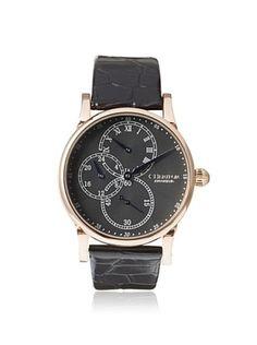 80% OFF Heritor Men's HERHR1104 Thomson Black Stainless Steel Watch