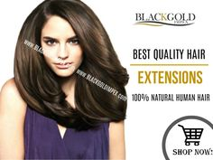 You still haven't tried some of the best quality hair extensions in the market yet!! Don't be the last to try Blackgold Impex products.
