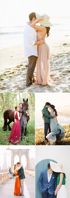 Engagement Photo Ideas | What to Wear for Your Engagement Shoot 30 Stylish Outfit Ideas for Engagement Photos