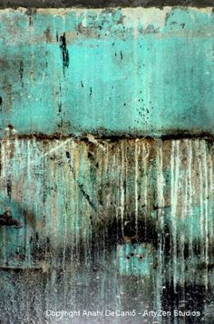 Delray Biker Blues - Wall Abstract by My Pink Soapbox Anahi DeCanio