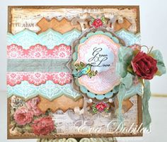 Classic Lace Edges Two Clear Stamps