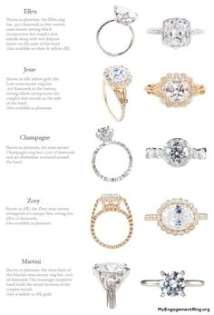 beautiful collections trendy diamonds engagement rings - My Engagement Ring