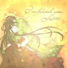"""I've found you, Lacie.""  ~Jack(Pandora Hearts)"