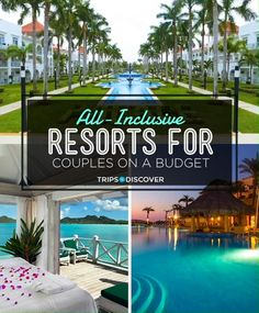 An all-inclusive resort can be a great choice for couples who want to enjoy a budget-friendly vacation. ideas in usa all inclusive resorts 17 All-Inclusive Resorts for Couples on a Budget Romantic Weekend Getaways, Romantic Vacations, Romantic Travel, Unique Vacations, Best Honeymoon Destinations, Travel Destinations, Honeymoon Ideas, Travel Trip, Best Place For Honeymoon