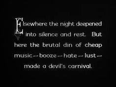 Underworld, 1927. Dir. Josef von Sternberg.