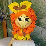 Кукла-держатель для туалетной бумаги - купить или заказать в интернет-магазине на Ярмарке Мастеров   Кукла-держатель для туалетной бумаги выполнена из…