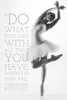 Do what you can with all that you have wherever you are - Theodore Roosevelt