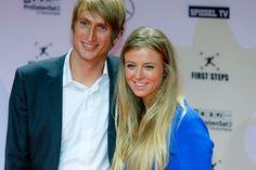 Fritz Meinikat mit Nina Eichinger bei den First Steps Awards