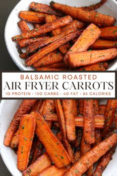 Air Fryer Oven Recipes, Air Frier Recipes, Grilling Recipes, Low Carb Side Dishes, Healthy Side Dishes, Cooked Carrots Recipe Healthy, Roasted Whole Carrots, Balsamic Glazed Carrots, Vegetarian Recipes