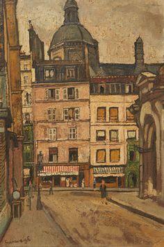 Nathan GRUNSWEIGH (Cracovie 1880 - Déporté en 1943) Rue Neuve Saint Pierre, Paris