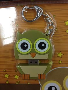 It is a flash drive! How cool and cute.