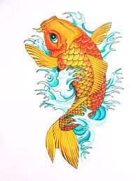 koi fish tattoo?