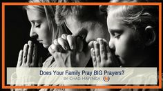 """Do you ever feel like praying as a family is just """"going through the motions""""?  As parents, and as Christians, many of us place great value on prayer. But sometimes figuring out how to grow a culture of prayer can be difficult — especially if our personal prayer life is consistently a challenge. If […]"""
