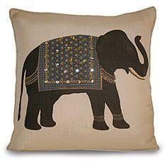 Lucky Elephant Pillow