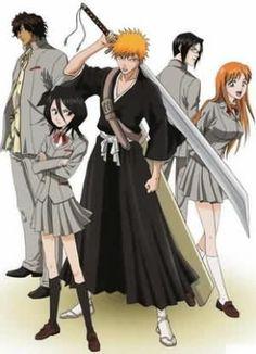 Bleach Anime Read High Quality Bleach Manga on MangaGrounds Shinigami, Ichigo Et Rukia, Ichigo Y Orihime, Bleach Manga, Bleach Rukia, Comic Manga, Anime Manga, Anime Art, Bleach Characters