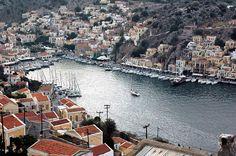 Harbour, #Symi Island, #Greece
