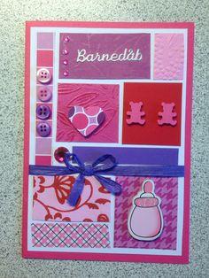 Dåbskort til den lille prinsesse