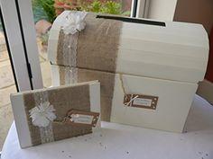 Mariage, anniversaire de mariage, anniversaire, de la poitrine, boîte aux lettres et livre d'or, Wishing Well en toile de jute Vintage Rosie with Love http://www.amazon.fr/dp/B00MSRLRRS/ref=cm_sw_r_pi_dp_tPZQwb04QQ1A9