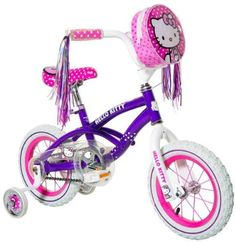 Hello Kitty Girl's Bike, Purple, 12-Inch Hello Kitty http://www.amazon.com/dp/B00E1XW85W/ref=cm_sw_r_pi_dp_Hjsgub0HGKBC4