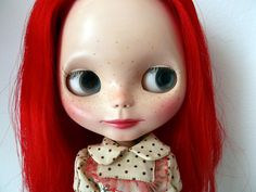 For adoption on Etsy. Brie muñeca neo Blythe SBL customizada por GuillerminaXcake