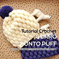 tutorial gorro crochet