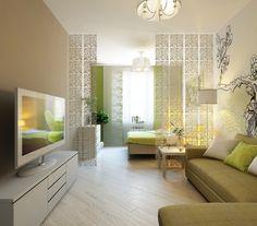 Studio Apartment Decorating Design Ideas For Spacious Space - home design Minimalist Studio Apartment, Studio Apartment Layout, Small Studio Apartments, Studio Apartment Decorating, Minimalist Bedroom, Minimalist Layout, Modern Bedroom Design, Living Room Modern, Modern Design