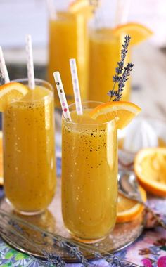 The perfect spring and summer cocktail for every occasion, this Sparkling Lavender Orange Mimosa is quick easy and a must have for bridal showers, baby showers and mothers day. Can be made into a mocktail recipe, too! Mimosa Cocktail Recipes, Cocktail And Mocktail, Easy Cocktails, Vodka Cocktails, Martinis, Holiday Drinks, Party Drinks, Summer Drinks, Irish Cream