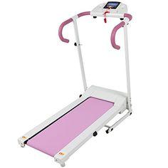 Pink-500W-Portable-Folding-Electric-Motorized-Treadmill-Running-Fitness-Machine