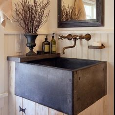 I love this sink and faucet