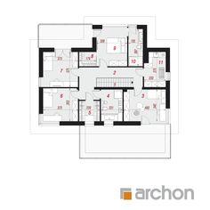 Projekt domu Willa Miranda 4 (G2) - ARCHON+ Micro House, My House, Floor Plans, Home Decor, Building Ideas, Build House, Decoration Home, Room Decor, Home Interior Design