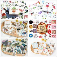 40pcs/set Kawaii Girl Series Memo Pad Diary Stickers Pack Post It Kawaii Planner Scrapbooking Stationery Escolar School Supplies