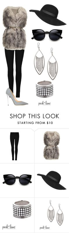 """""""Winter Boho"""" by parklanejewelry on Polyvore featuring PINGHE, Topshop, Jimmy Choo, women's clothing, women's fashion, women, female, woman, misses and juniors"""
