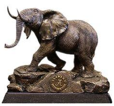 alabama elephant statue | Alabama Crimson Tide Sculpture, Elephant-Sculptures-Statues, COL-001 ...
