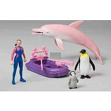 Animal Planet Ocean Park Playset by RJ Quality Products. $17.99. Ocean Park Playset includes, big Dolphin with mechanical action, mother Penguin, baby Penguin, articulated Figure, and a Raft.Toys'R'Us is the home for Animal Planet toys, puzzles and animal themed playsets that you won't find anywhere else! Remote control T-Rex dinosaurs and creepy crawling tarantula, dino and safari play tents, plush stuffed animals and jumbo T-Rex foam dinos all in one place! T...