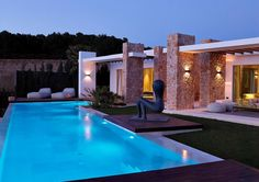 Calaconta is a gated community located in Ibiza, Spain, its homes designed by Maged Bermawi.