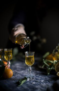 Story & Recipe of 'Rosolio di Portogallo', a Sweet Italian Orange & Saffron Liquor | Hortus Italian Cooking