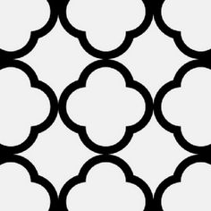 clover quatrefoil stencil.