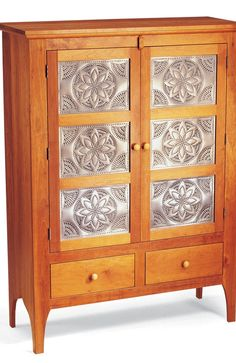 Extended Diamond Punched Tin Panels   Three Different Finishes Available | Cabinet  Panel | Pinterest