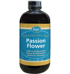 Baar Products Passion flower is nature's sleeping pill, very helpful for insomnia, producing no narcotic hangover. Historically, it has been recommended as antispamodic, helpful with seizures, hysteria, asthma, nerve pain and Parkinson's disease.