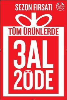 Cepa AVM The Body Shop'dan 3 al 2 öde fırsatı!  #cepaavm #thebodyshop #ankara #avm #firsat