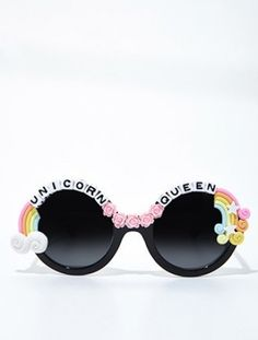 a38247bccc29 115 Best Decorated DIY Sunglasses Krewe of Iris images