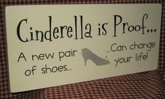 A new pair of shoes can change your life :)