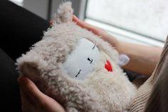 Cute Soft Minky Plush Warmer Microwavable Heatable Sheep Toy