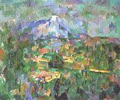"""Paul Cézanne, """"La montagne Sainte-Victoire"""", ca Kunstmuseum Basel, Basilea (Basel) Paul Cézanne, Fauvism, Post Impressionism, French Artists, Artist Painting, Art World, Painters, Sea Shells, Modern Art"""