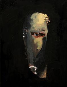 "Emilio Villalba - ""The Ghost"", 14x18"", Oil on Canvas, 2017."