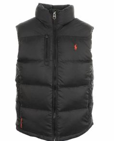 BNWT POLO RALPH LAUREN MEN S DOWN CORE TREK BLACK VEST GILET RL150 RRP £195