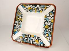 Vintage 1960's Royal Sealy Mod Ashtray Faux Mosaic by my3luvbugs, $11.50 #Etsy #Vintage
