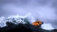 Giant Waves, Big Waves, Yacht World, Sea Storm, Pembrokeshire Coast, Big Sea, Merchant Navy, Tug Boats, Motor Boats